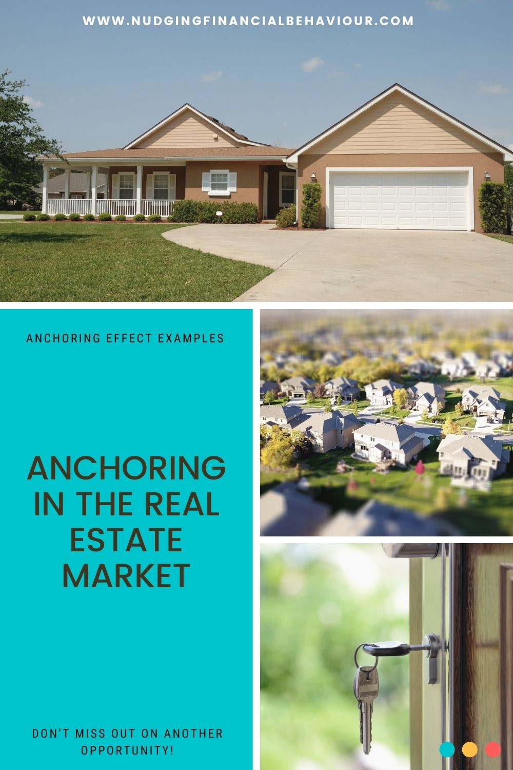 Anchoring in real estate
