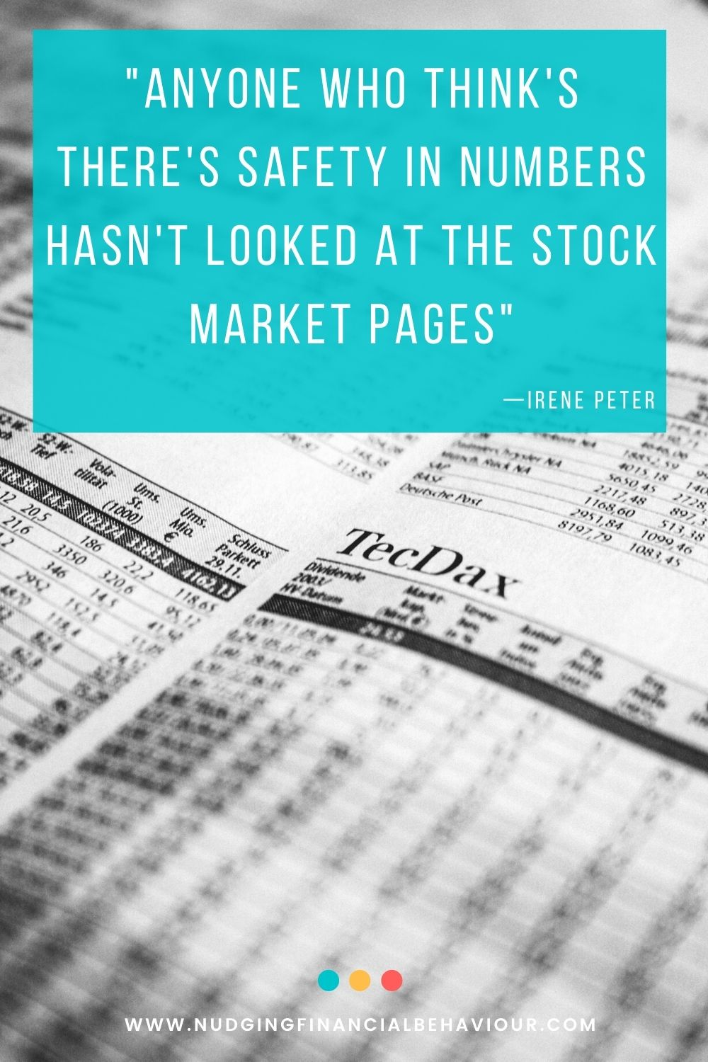Regret avoidance and the stock market